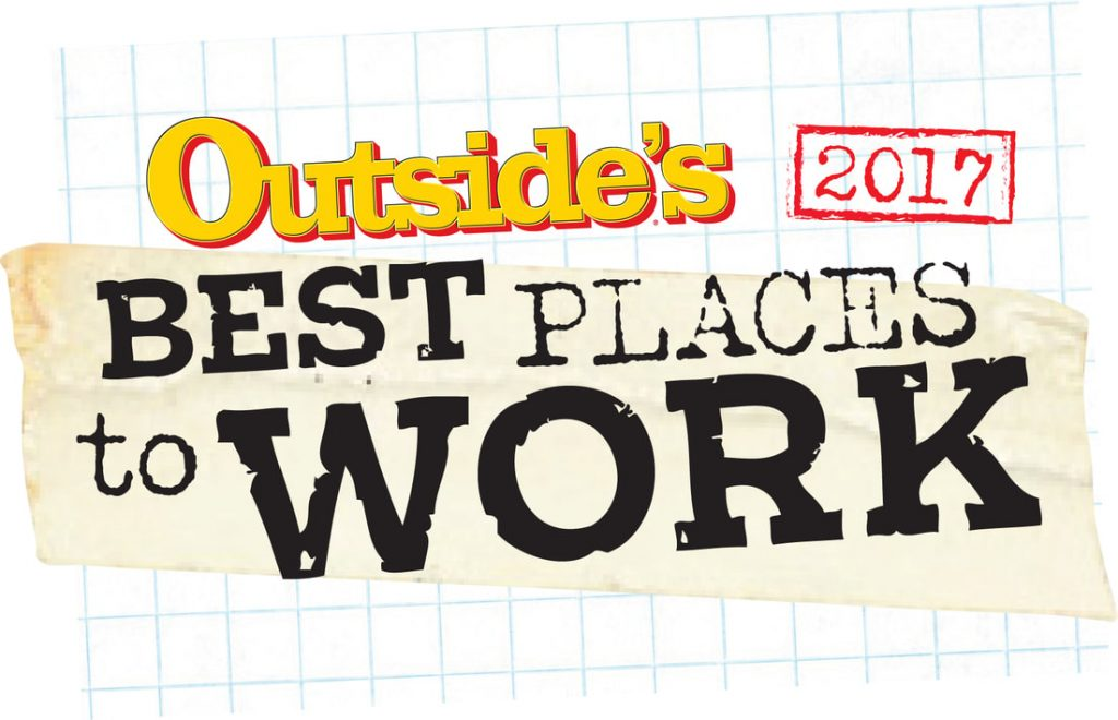 Outside's Best Places to Work 2017