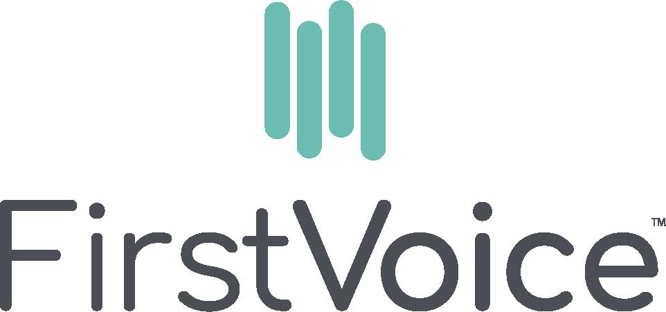 FirstVoice vertical logo