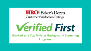 Verified First Makes 2019 HRO Today's Baker's Dozen List (1)