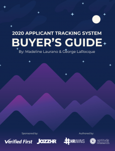 2020 Applicant Tracking System Buyers Guide with Verified First and JazzHR