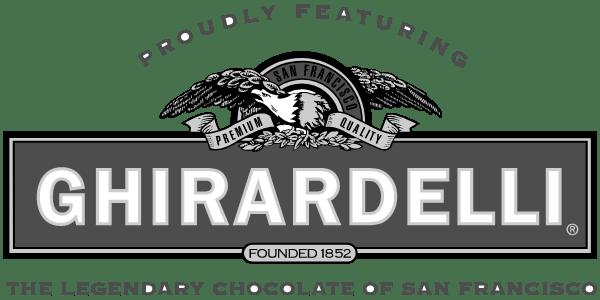 ghirardelli logo - greyscaled