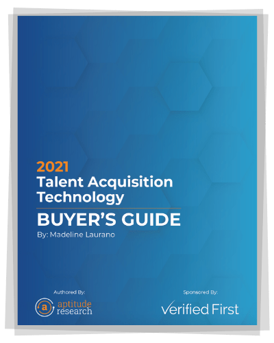 2021 Talent Acquisition Tech Buyer's Guide - Title Page