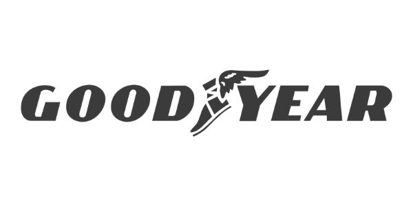 Goodyear Logo - Greyscaled