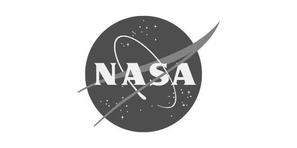 NASA Logo - Greyscaled