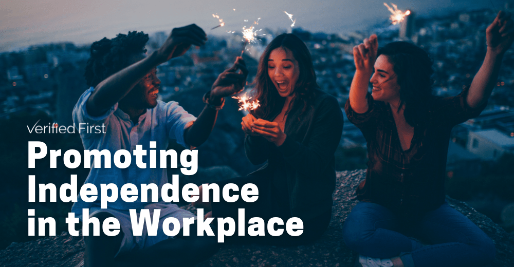 Promoting Independence in the Workplace