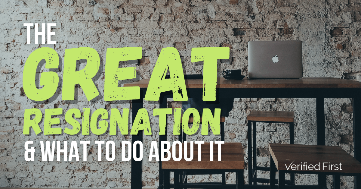 """The """"Great Resignation"""" and What to Do About It"""