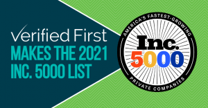 Verified First and Inc 5000 Blog Image 2021